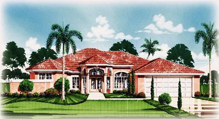 Artists rendering of The Portofino in Cyprus Ridge